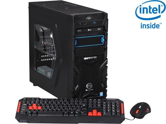 iBUYPOWER T.T SERIES NE729i Desktop PC Intel Core i7 4790K (4.0GHz) 8GB DDR3 1TB HDD Windows 8.1 64-Bit
