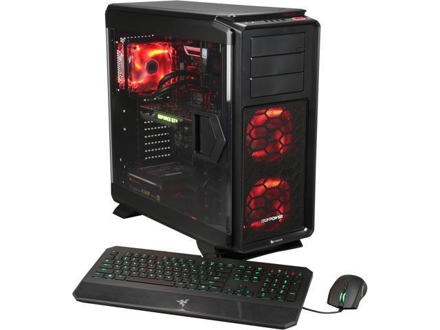 iBUYPOWER Desktop Computer Extreme Series NE104AC Intel Core i7 5820K (3.30GHz) 32GB DDR3 1TB HDD 256GB SSD Windows 8.1 64-Bit