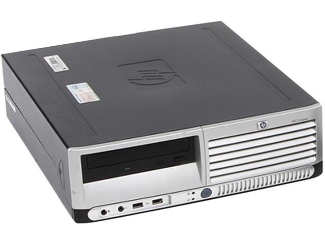 HP Compaq DC7700 (NE2-0036) Desktop PC Pentium dual-core 3.4GHz 4GB 750GB HDD Windows 7 Home Premium 32-bit