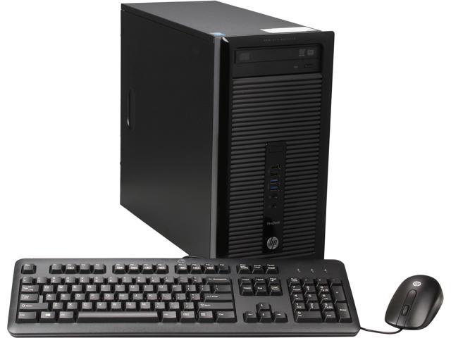 HP Business Desktop ProDesk 400 G1 Desktop Computer - Intel Core i5 i5-4570 3.2GHz - Micro Tower
