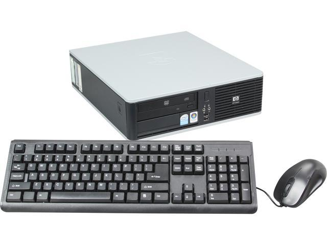 HP DC5800 Small Form Factor Desktop PC with Intel Core 2 Duo 2.30Ghz, 6GB RAM, 500GB HDD, Windows 7 Professional 64 Bit