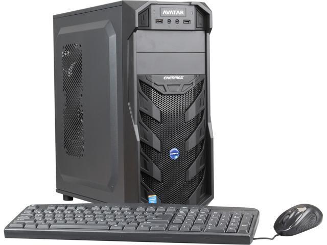 Avatar LinuxPC I5 Desktop PC Intel Core i5 4570 (3.20GHz) 8GB DDR3 1TB HDD Ubuntu 12