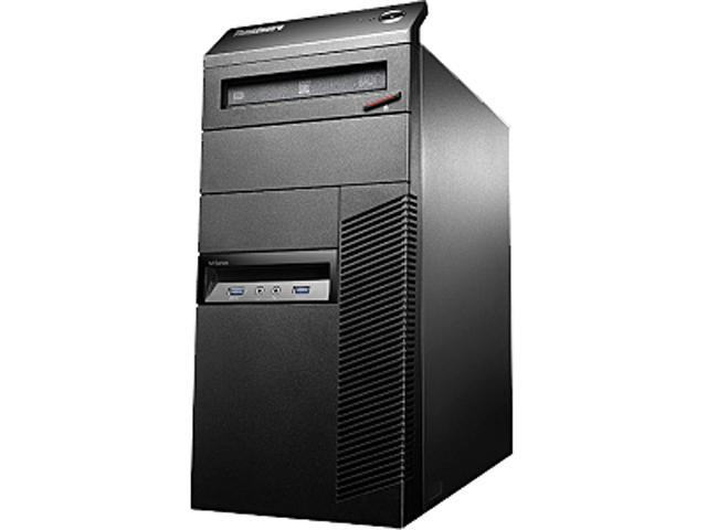Lenovo ThinkCentre 10A60019US Desktop Computer - Intel Core i5 i5-4570 3.20 GHz - Mini-tower - Business Black