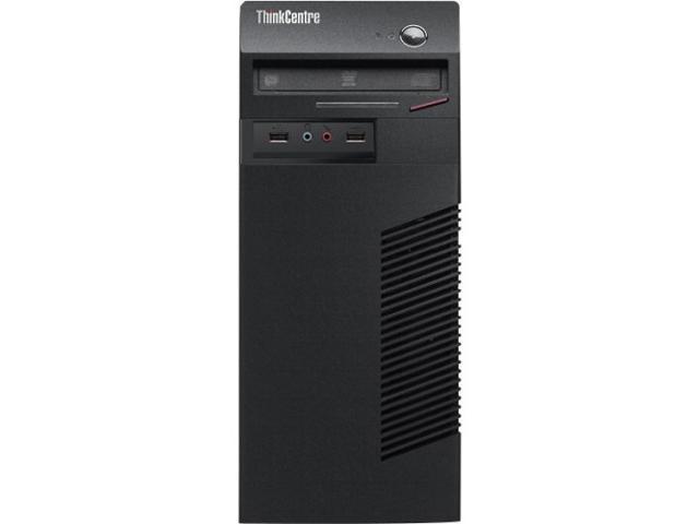 Lenovo ThinkCentre M73 10B00008US Desktop Computer - Intel Core i7 i7-4770 3.4GHz - Mini-tower - Business Black