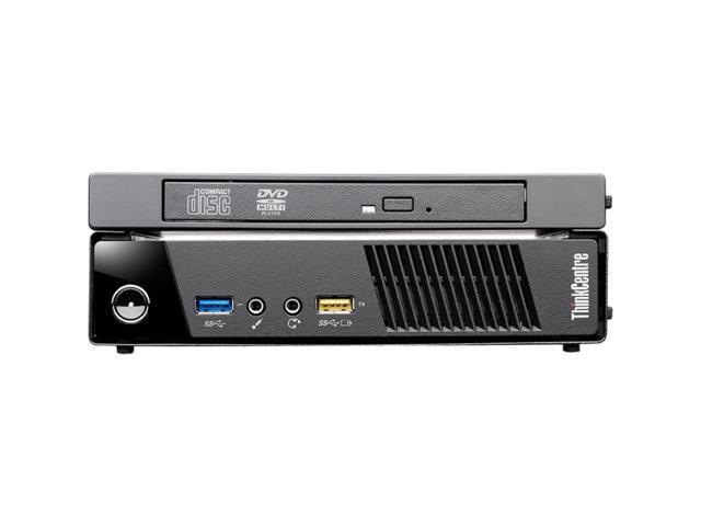 Lenovo ThinkCentre M93p 10AB000FUS Desktop Computer - Intel Core i7 i7-4765T 2GHz - Tiny - Business Black