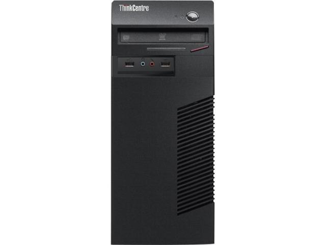 Lenovo ThinkCentre M73 10B20002US Desktop Computer - Intel Core i5 i5-4670 3.4GHz - Mini-tower - Business Black