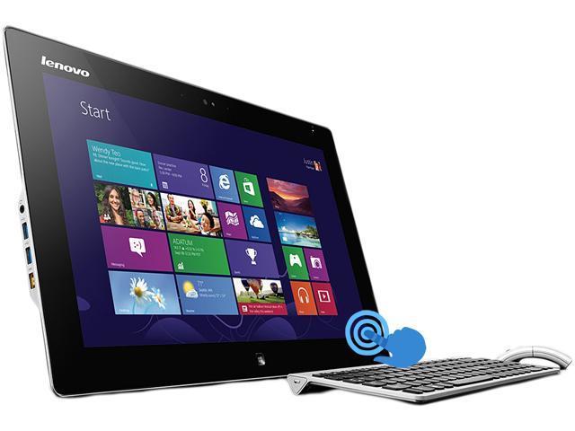 "Lenovo Flex 20 All-In-One Multimode, Multi-User 19.5"" Touchscreen Desktop with Intel Core i3-4010U 1.70 GHz, 4GB DDR3 RAM, 500GB HDD, HD+ 1600 x ..."