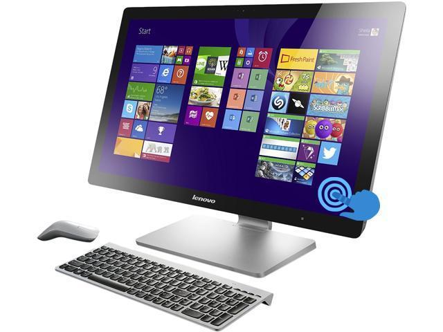 Lenovo A740 Intel Core i7 4558U (2.80GHz) 8GB DDR3 1TB + 8GB Cache SSHD HDD 27