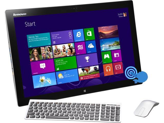 Lenovo All-in-One PC Horizon 2 Intel Core i7 4510U (2.0GHz) 8 GB 1TB HDD 27