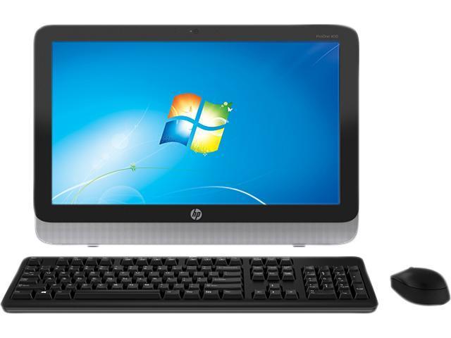HP ProOne Pentium G3420T (2.7GHz) 4GB DDR3 500GB HDD 19.5