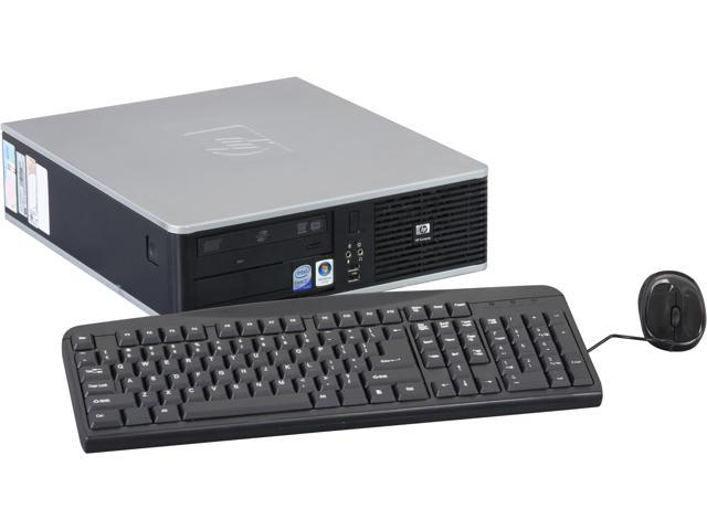 HP DC7800 Desktop PC, 1 Year Warranty Intel Core 2 Duo 2.3GHz 2.3GHz 2GB 80GB HDD Windows 7 Home Premium 64-Bit