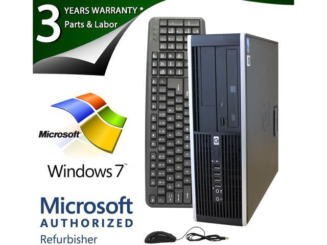 HP 6005 Pro Desktop PC with AMD Athlon II X2 B22 (2.80GHz), 8GB DDR3, 750GB HDD, 120GB SSD, Windows 7 Professional 64-Bit