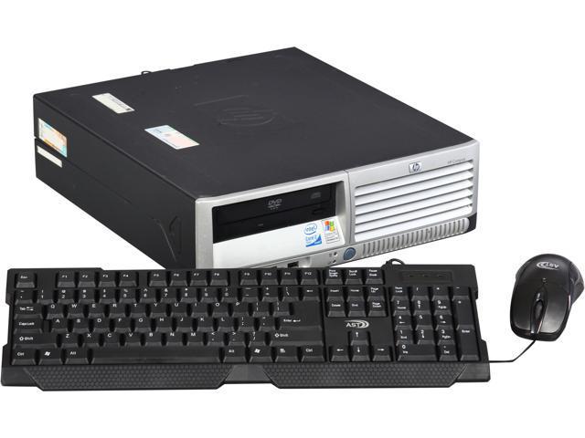 HP Compaq DC7700 Desktop PC Pentium D 3.4GHz 2GB 80GB HDD Windows 7 Professional 32-Bit