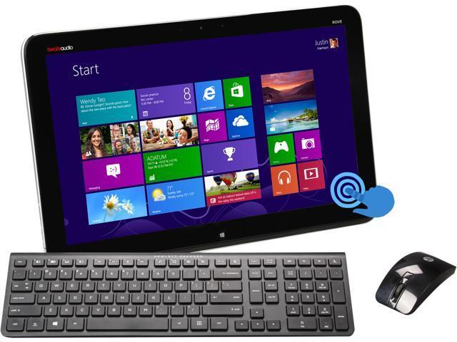 HP Envy Rove Intel Core i3 4010U (1.7GHz) 4GB 750GB HDD 8GB SSD 20