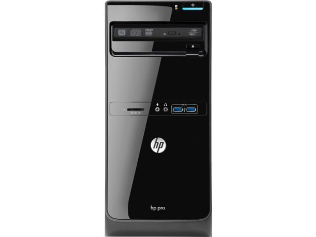 HP Business Desktop Pro 3500 Desktop Computer - Intel Pentium G2030 3 GHz - Micro Tower