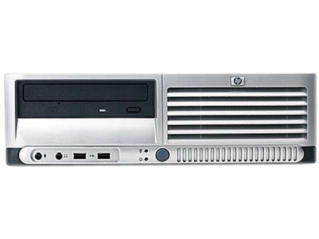 HP Desktop PC DC7700 SFF -1.8-W7H Core 2 Duo 1.8GHz 2 GB 80GB HDD Windows 7 Home Premium