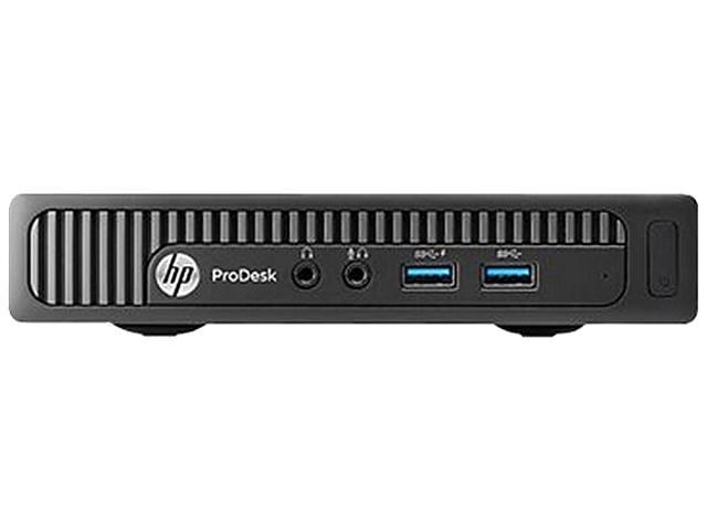 HP Business Desktop ProDesk 600 G1 Desktop Computer - Intel Core i3 i3-4160T 3.10 GHz - Mini PC