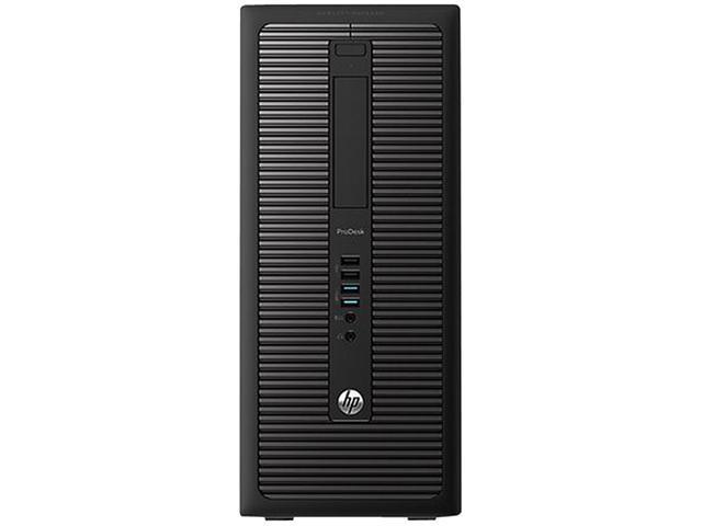 HP Business Desktop ProDesk 600 G1 Desktop Computer - Intel Core i3 i3-4160 3.60 GHz - Micro Tower