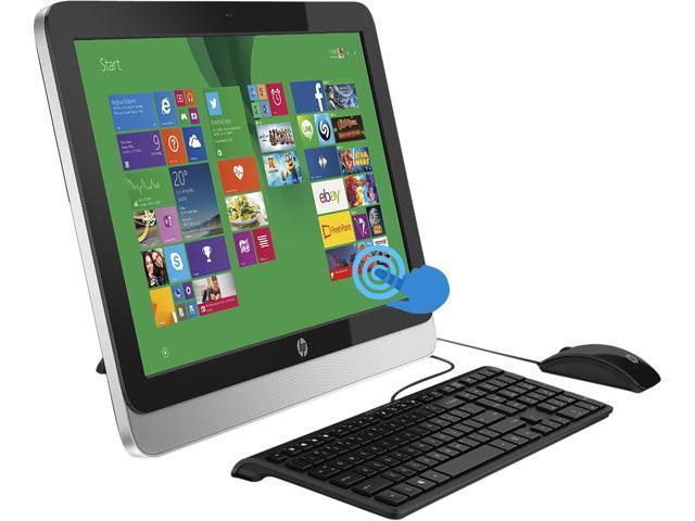 HP All-in-One PC 21-2010 A4-Series APU A4-6210 (1.80GHz) 4GB DDR3 1TB HDD 21.5