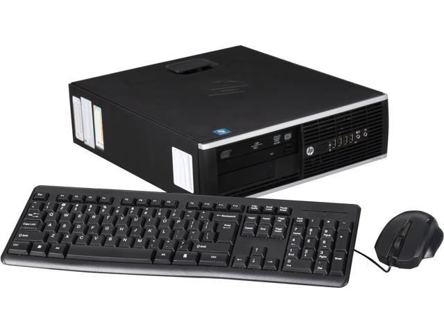 HP 6200 Small Form Factor Desktop PC with Intel i3-2120 (3.3GHz), 4GB Memory, 250GB Hard Drive, DVDRW, Windows 7 Pro 64 Bit
