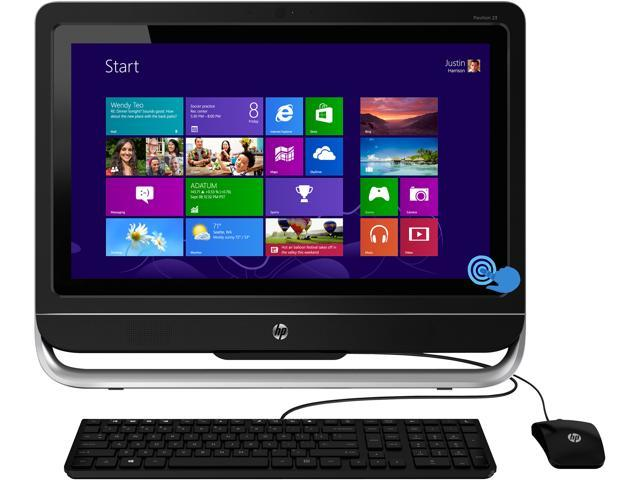 HP All-in-One PC Pavilion TouchSmart 23-h027c Intel Core i3 8 GB 1TB HDD 23