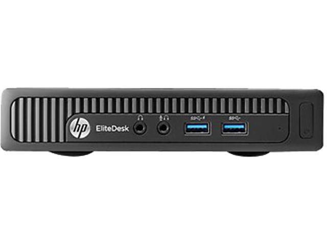 HP EliteDesk 705 G1 Desktop Computer - AMD A-Series A4 PRO-7350B 3.40 GHz - Mini PC - Black