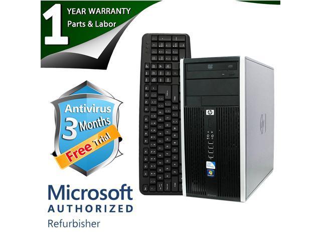 HP Desktop Computer 6000 Pro Core 2 Duo E7500 (2.93 GHz) 8 GB DDR3 2 TB HDD Intel GMA 4500 Windows 7 Professional 64-Bit