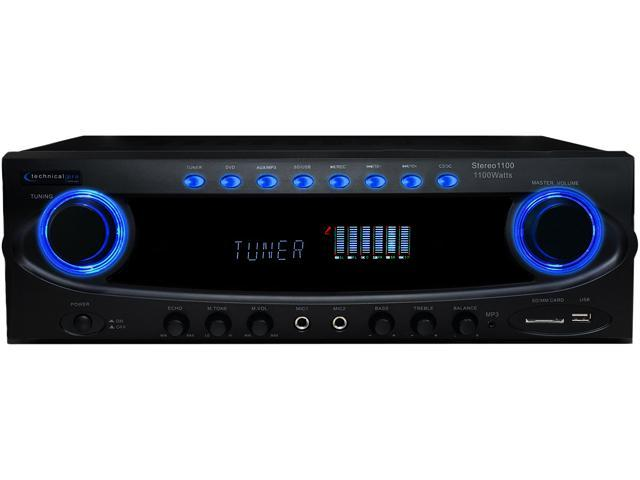 Technical Pro 72-ST1100 Professional Receiver - Stereo 1100
