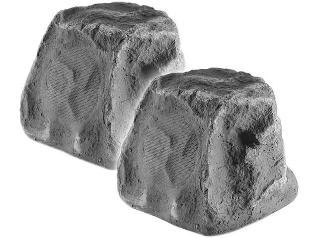 OSD Audio RX550Slate 2-Way Outdoor Rock Speakers Pair