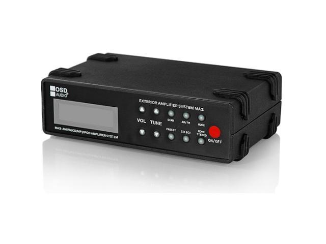 OSD Audio MA2 Outdoor Weather Resistant Marine Grade Amplifier and Receiver