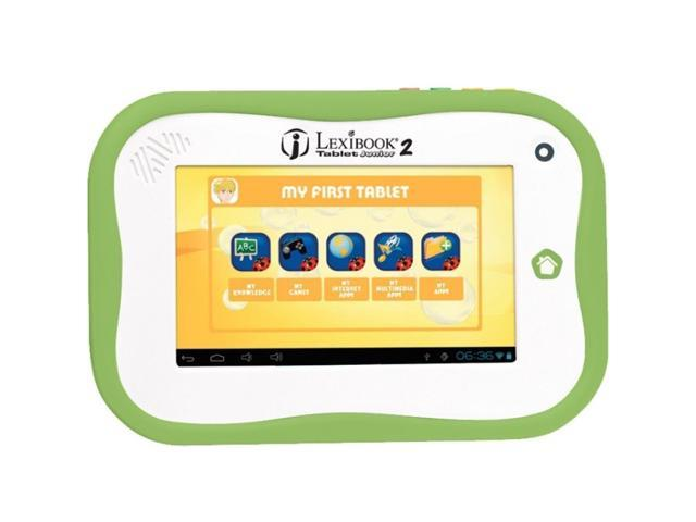 LEXIBOOKS MFC280EN TABLET JUNIOR 2 7IN 1GB 1GHZ ANDROID WIFI GREEN/WHITE AGE 4