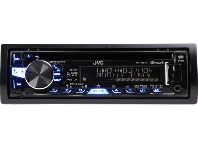 JVC KD-R860BT Bluetooth CD/USB receiver