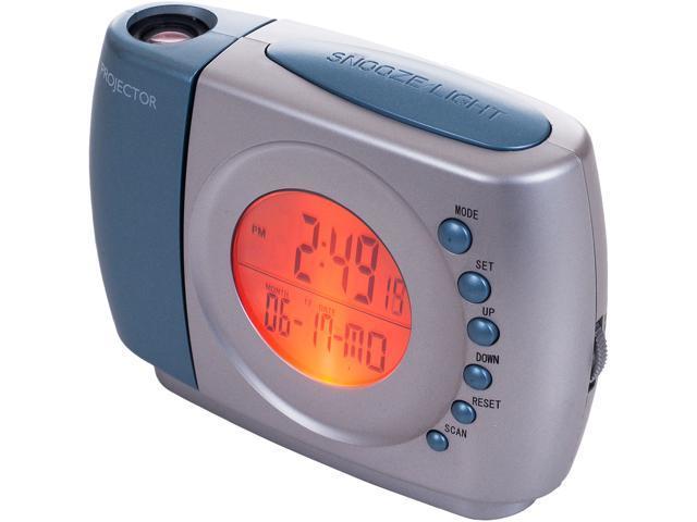 Northwest 72-MF814 Projection Alarm Clock with FM Radio