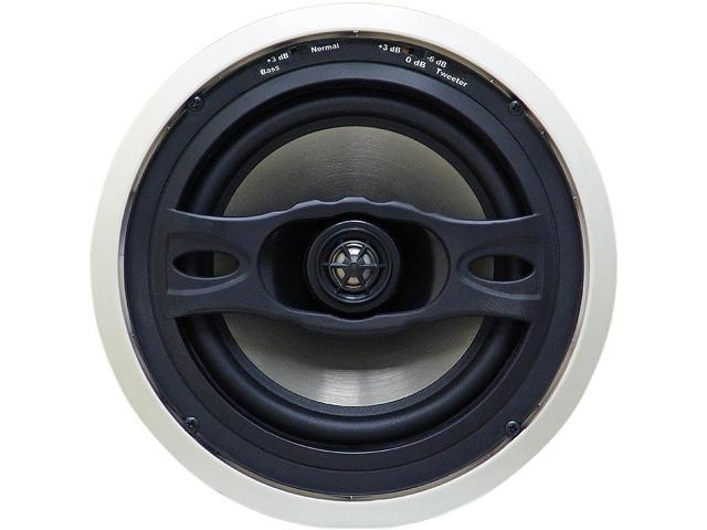 "UBD 1.6CBU In Ceiling 2 Way 6"" Speaker W/ Special Custom Resistor To Eliminate Blowouts(Comes in a Pair)"
