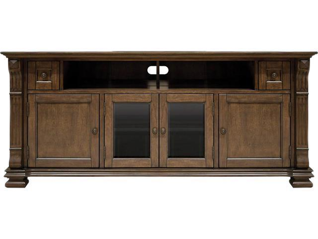 Bell?O PR36 Entertainment Wood Cabinet Mocha