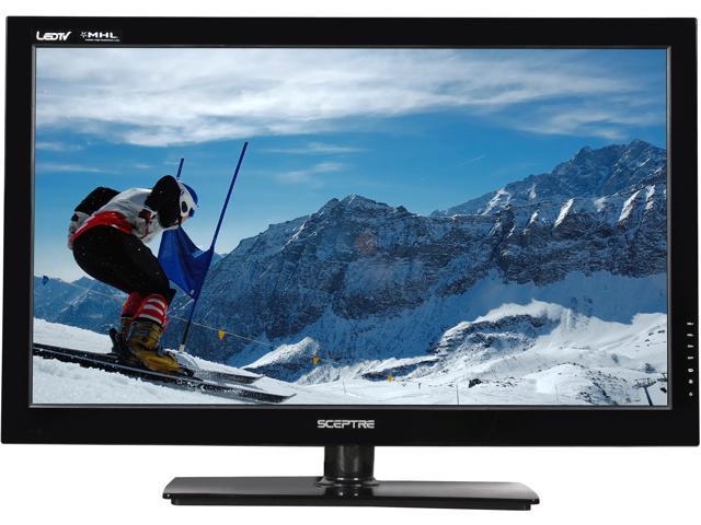 """Sceptre 32"""" Class 1080p LED HDTV w/ MHL Port – E325BV-FMD"""