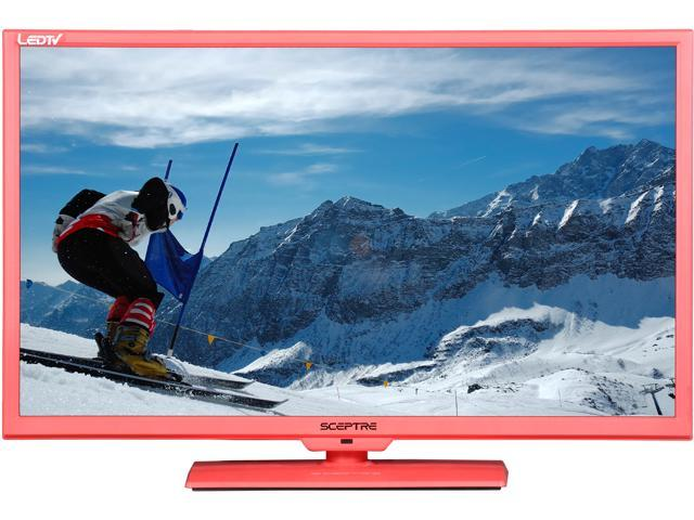 "Sceptre E325PD-HDR Pink 32"" 720p 60Hz LED HD TV/DVD Combo"