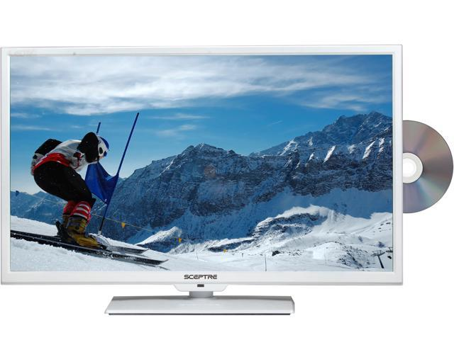 "Sceptre E325WD-HDR White 32"" 720p 60Hz LED HD TV/DVD Combo"