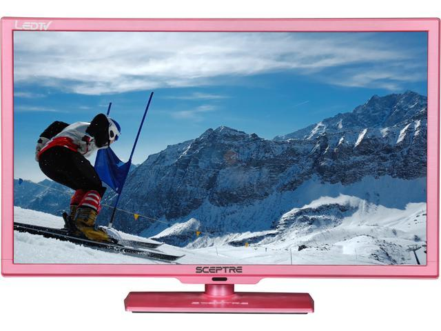 "Sceptre E245PD-FHDR Pink 24"" 1080p 60Hz LED HD TV/DVD Combo"