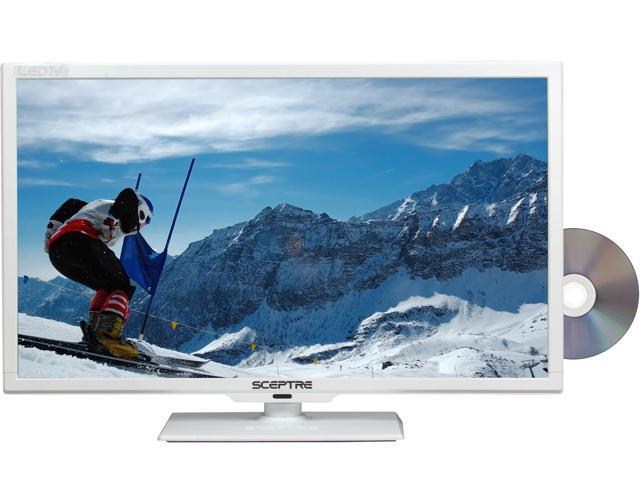 "Sceptre E245WD-FHDR White 24"" 1080p 60Hz LED HD TV/DVD Combo"