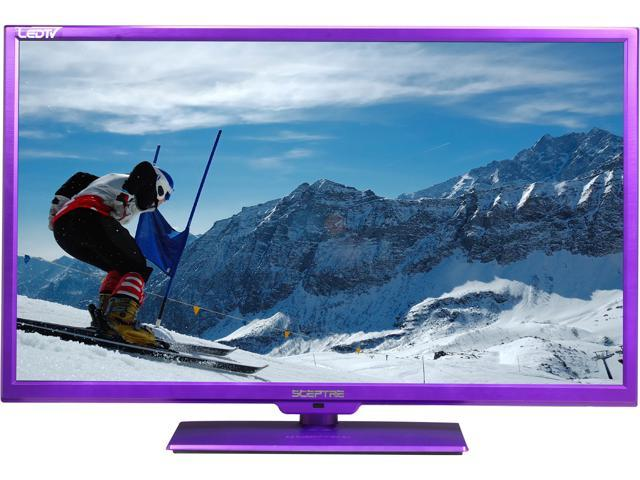 "Sceptre X322UV-HDR Purple 32"" 720p LED 60Hz LED HDTV"