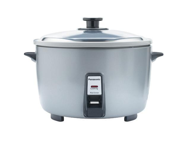 Panasonic SR-42FZL Silver 23-Cup Rice Cooker NSF Certified
