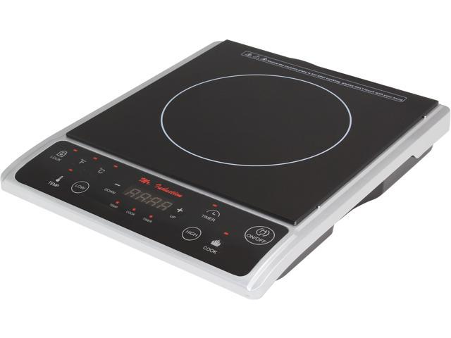 Supentown SR-964TS 1300W Induction Cooktop, Silver
