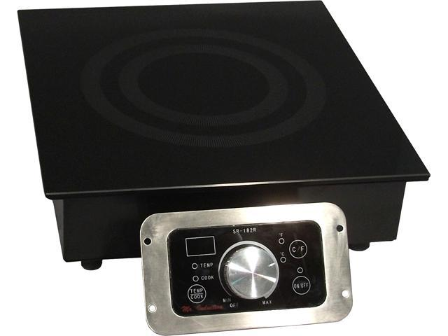 Sunpentown 1,800W Built-in Induction Cooktop (Commercial Use)