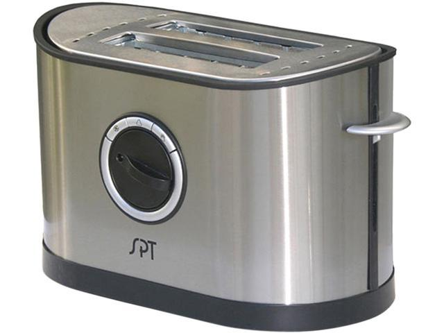 Sunpentown SO-337T Stainless Steel 2-Slot Stainless Steel Toaster