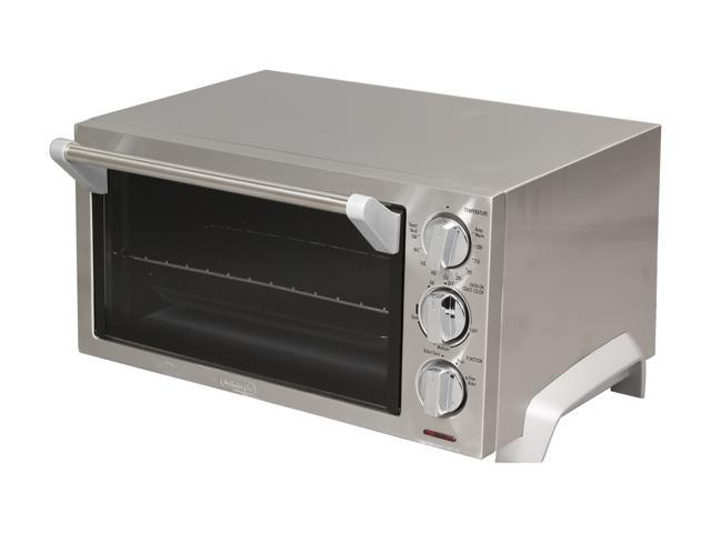 DeLonghi EO1260 Stainless Steel 6 Slice Toaster Oven