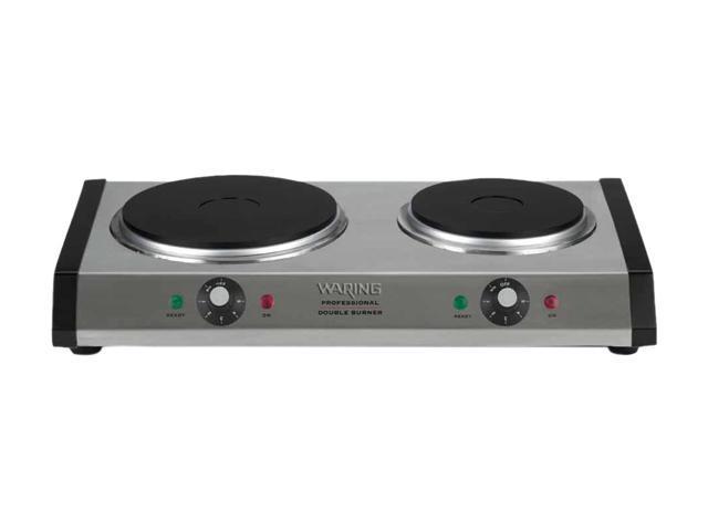 Waring Pro 1800-Watt Countertop Double Burner DB60