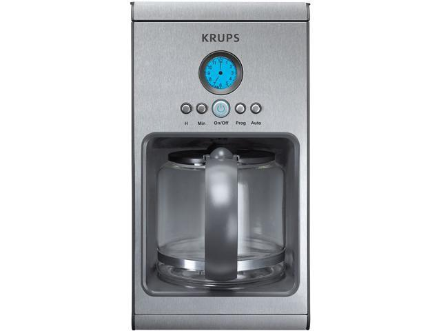 KRUPS KM101050 Stainless Steel and Graphite Automatic Drip Machines