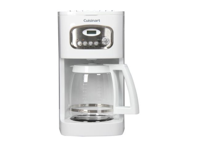Cuisinart DCC-1100FR White 12-Cup Programmable Coffeemaker