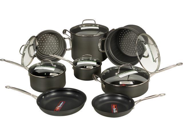 Cuisinart 66-14 14 Piece Cookware Set Black